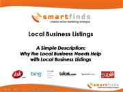 Local Business Help For Local Listings