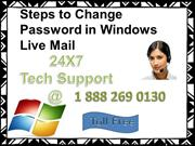 Windows live Mail 1 888 26 90130 Password Recovery Phone Number