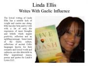Linda Ellis - Writes With Gaelic Influences