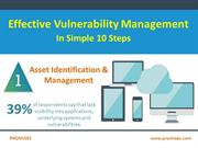 Effective Vulnerabilities Management in Simple Ten Steps