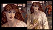 ROSSETTI, Dante Gabriel, Featured Paintings in Detail (1)