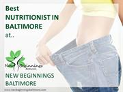 Nutrition Counseling Baltimore | Nutritionist | New Beginnings MD