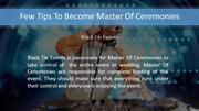 Tips To Become Master Of Ceremonies