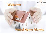 Fitted Home Alarms ppt