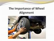 The Importance of Wheel Alignment