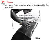 The Heart Rate Monitor Watch You Need To Get Right Now