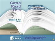 Gotta Read This 2016 Multicultural African American