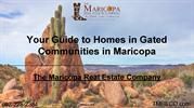 Your Guide to Homes in Gated Communities in Maricopa
