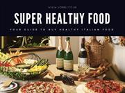 Super Healthy Italian Food Online