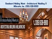 Crown Molding Miami