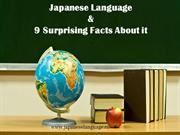Top 9 Japanese Language Facts