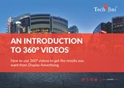 An Introduction to 360 Degree Videos