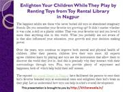 Enlighten Your Children While They Play by Renting Toys from Toy Renta