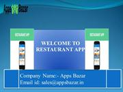 A Perfect Restaurant Business Solution App
