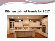 Kitchen cabinet trends for 2017