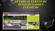 Get Great Furniture Deals On Garden Furniture