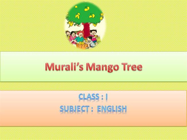 about mango tree in english