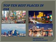 Top ten best places in usa