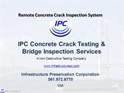 Concrete Crack Testing Service|Bridge Inspection