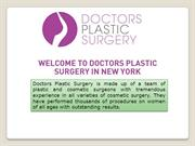 Best liposuction doctor-Doctor's Plastic Surgery in New York