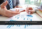 Why You Need Business Mobile App Consultant