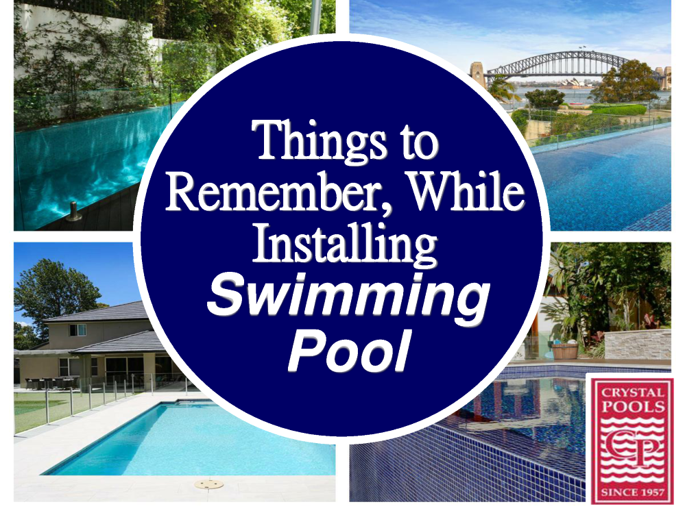 Things To Remember When Installing Swimming Pool Design Authorstream