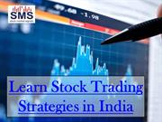 Learn Stock Trading Strategies in India