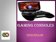 Get Online Gaming Consoles In Dubai