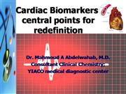 Cardiac Biomarkers Mahmoud