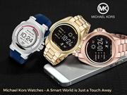 Michael Kors Watches - A Smart Word is Just a Touch Away