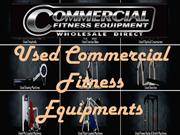 Used Commercial Fitness Equipments in Australia