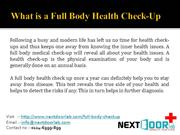 Full Body Health Check