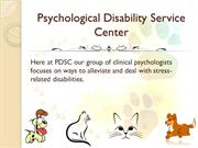 Psychological Disability Service Center