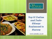 Top 10 Indian and Indo- Chinese Restaurant in Harrow | Indian Bar