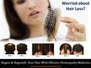 Understand the Various Causes and Best homeopathy medicines for Hairfa
