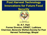ICCCWAFS 2016-PHT and Value-added Processing for Smallholder Farms