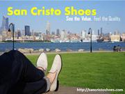 Affordable Mens Shoes & Loafers at San Cristo Shoes