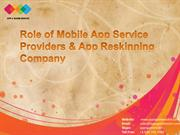 Mobile App Service Providers and App Reskinning Company