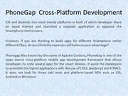 PhoneGap Cross-Platform Development India