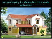 House for Rent in Noida | Room for Rent in Noida
