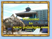 Stylist Tiki Huts and Tiki Bars in South Florida
