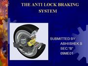 Air Lock Braking