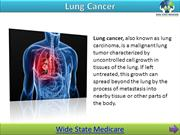 Lung Cancer Awareness - WideStateMedicare