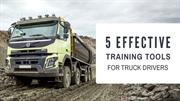 5 Effective Training Tools for Truck Drivers