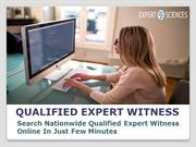 Qualified Expert Witness
