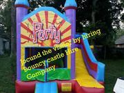 Jocund the visitor by hiring Bouncy castle Hire Company