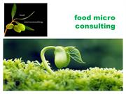Food and Beverage Consultants - Food Micro Consulting