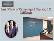 Disscrimination Lawyer Los Angeles -Law Offices of Cummings & Franck,