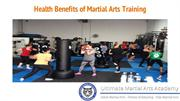 Health Benefits of Martial Arts Training