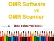 OMR Software vs OMR Scanner by omrhome